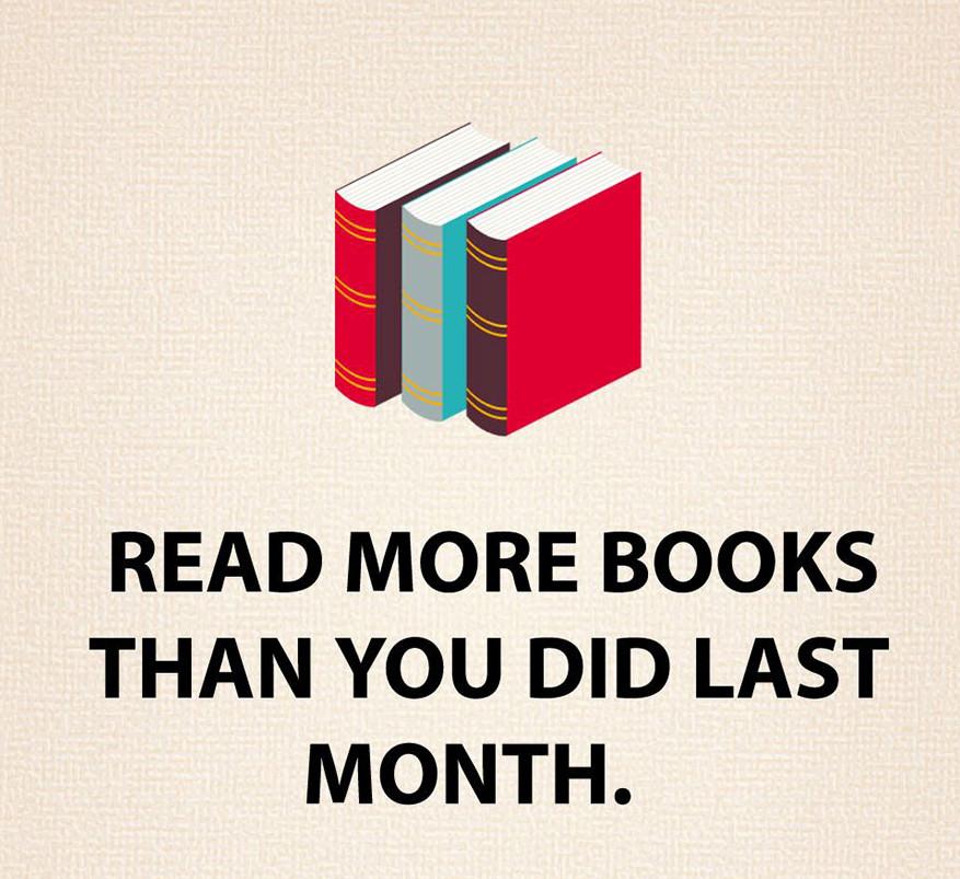 Olvass több könyvet, mint múlt hónapban