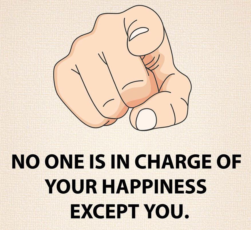 Senki sem lehet úr a boldogságod felett, téged kivéve