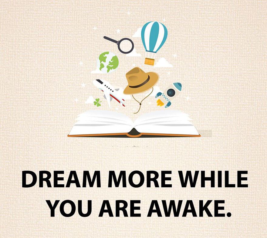 Álmodozz többet ébren