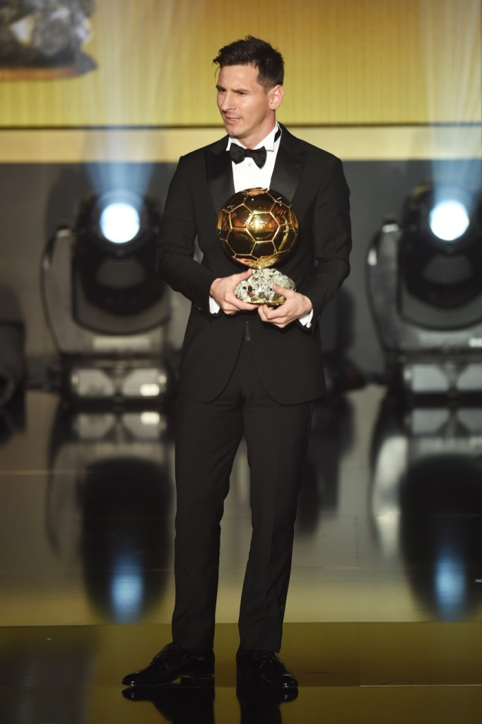 Messi Aranylabda