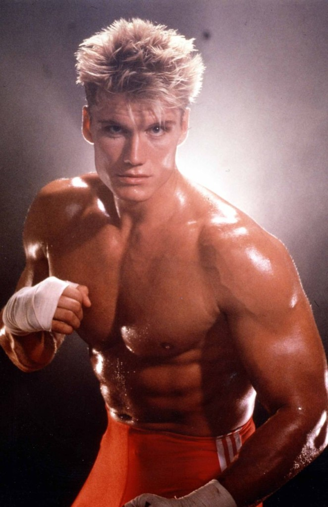 A Rocky-ban az orosz főellenség szerepében, '85-ből.