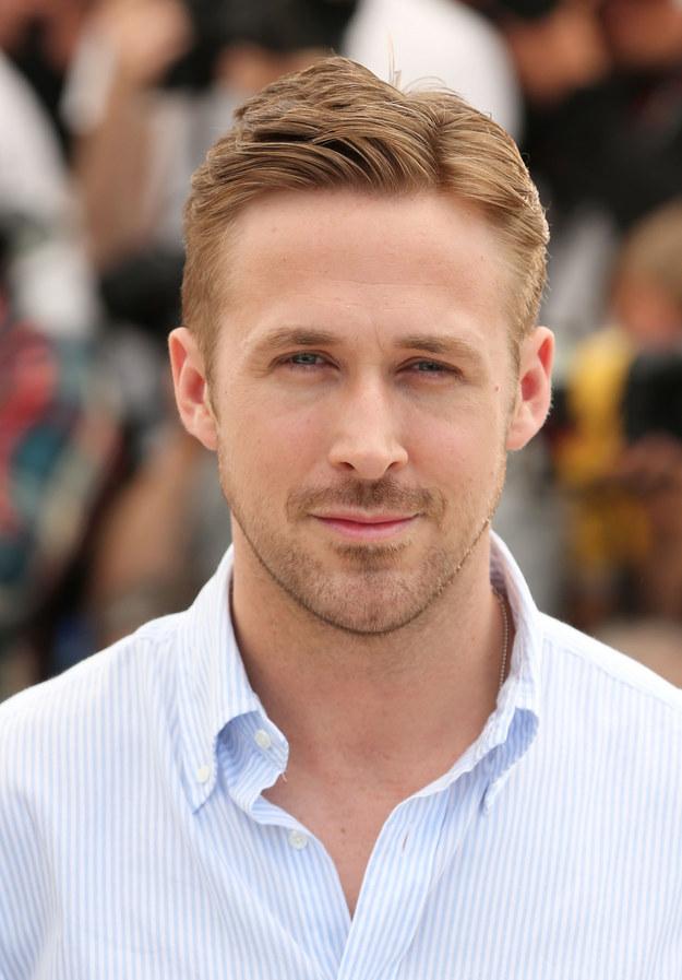 Ryan Gosling. Rövid haj. Na?