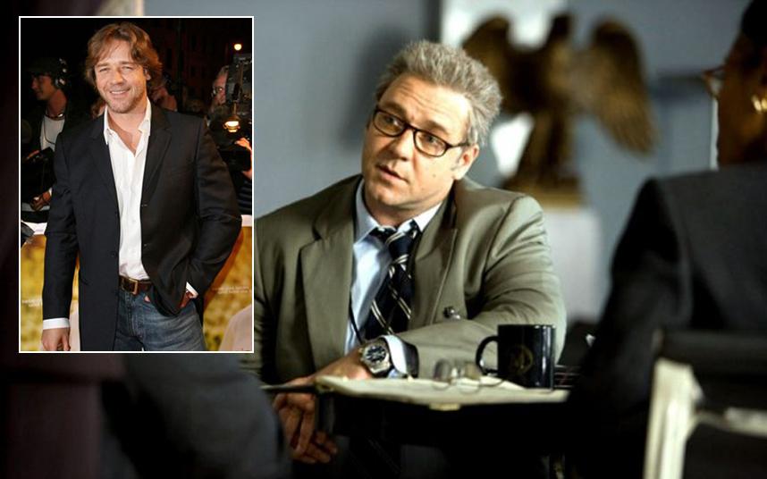 'Crowe a Hazugságok hálójában c. filmért rendesen meghízott, bár sokat nem kellett szenvednie érte.