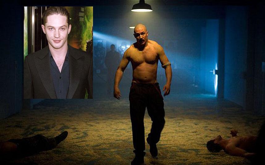 Balra vékonyka szépfiú, jobbra nagy darab gengszter a Bronsonban.