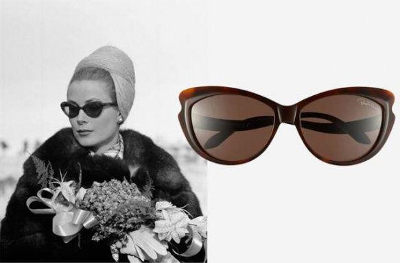 Grace Kelly 1962-ben egy Cavalli napszemüvegben
