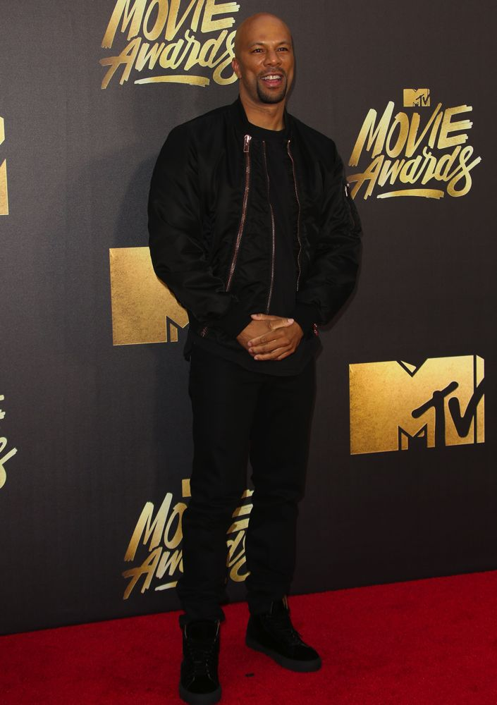25th Annual MTV Movie Awards Featuring: Common Where: Burbank, California, United States When: 09 Apr 2016 Credit: FayesVision/WENN.com