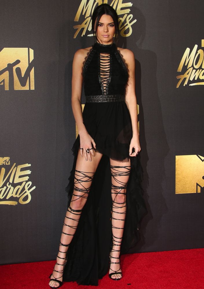 2016 MTV Movie Awards at Warner Bros. Studios - Arrivals Featuring: Kendall Jenner Where: Los Angeles, California, United States When: 09 Apr 2016 Credit: FayesVision/WENN.com