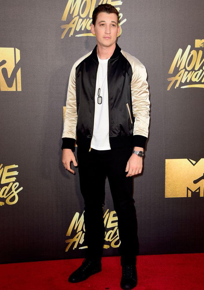 attends the 2016 MTV Movie Awards at Warner Bros. Studios on April 9, 2016 in Burbank, California.  MTV Movie Awards airs April 10, 2016 at 8pm ET/PT.