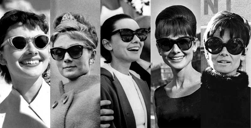 Audrey Hepburn a napszemüvegdivat nagyanyja