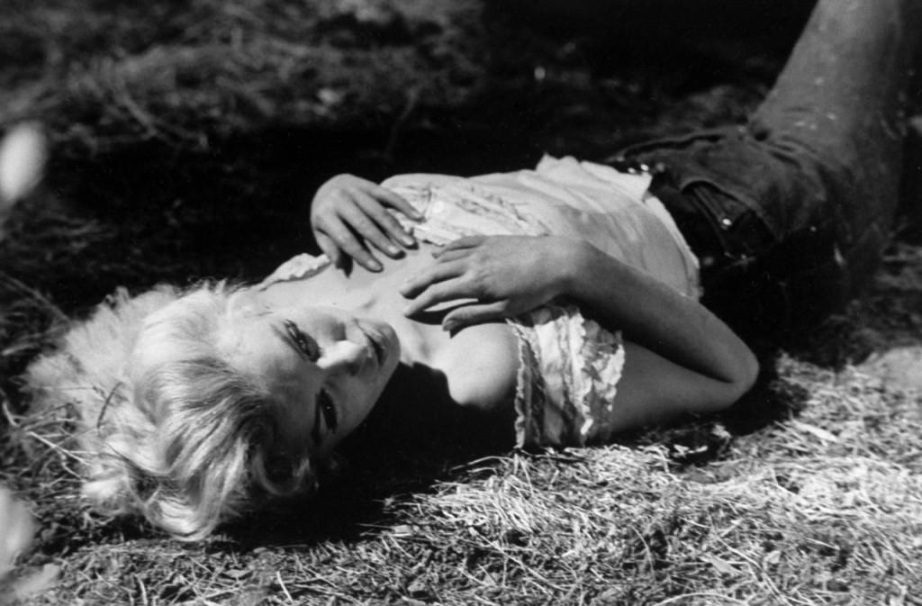 Marilyn Monroe - A folyó, ahonnan nincs visszatérés c. filmből.