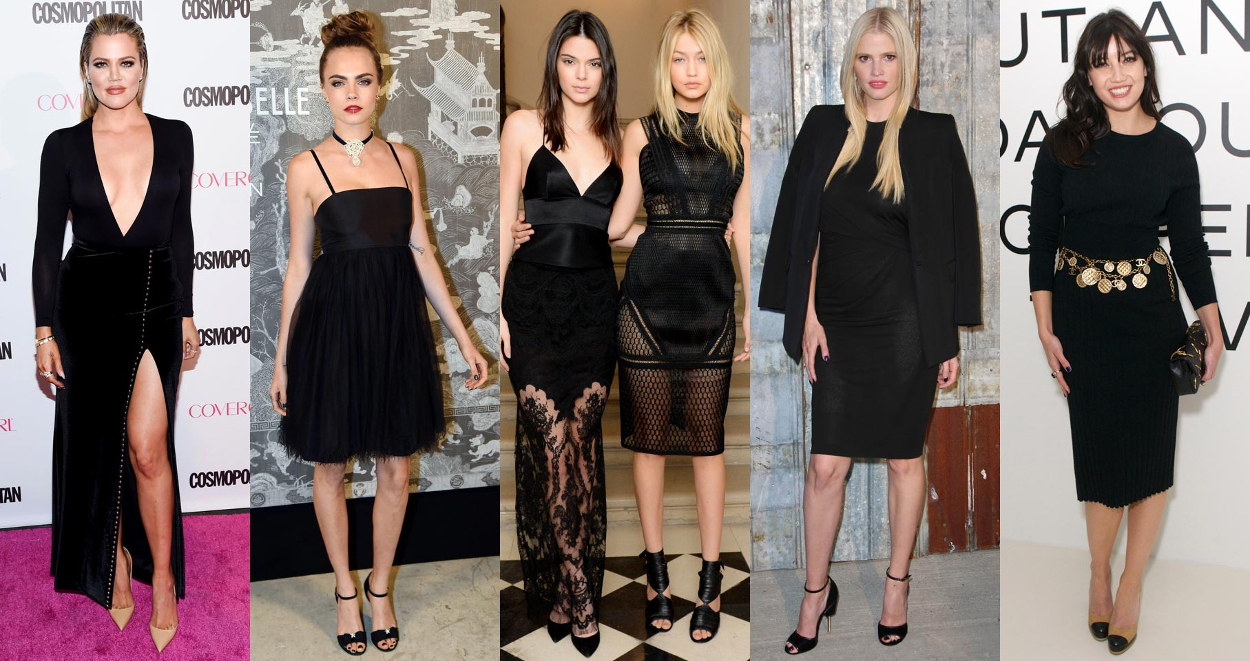 little-black-dress-party-style-trend-cara-kardashian-kendall