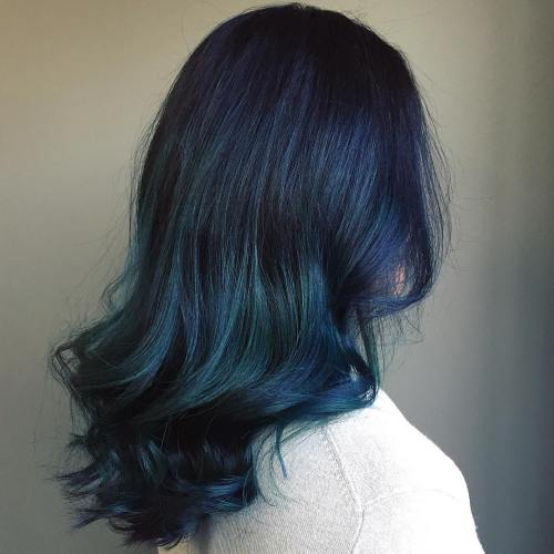 2-black-to-teal-ombre-hair
