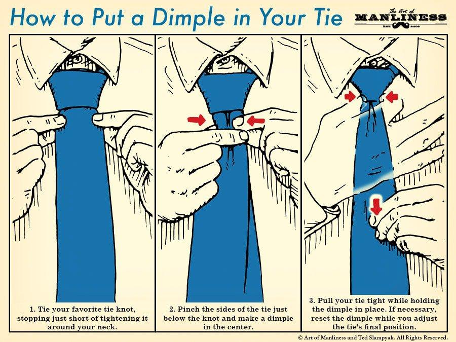 nyakkendő igazítás