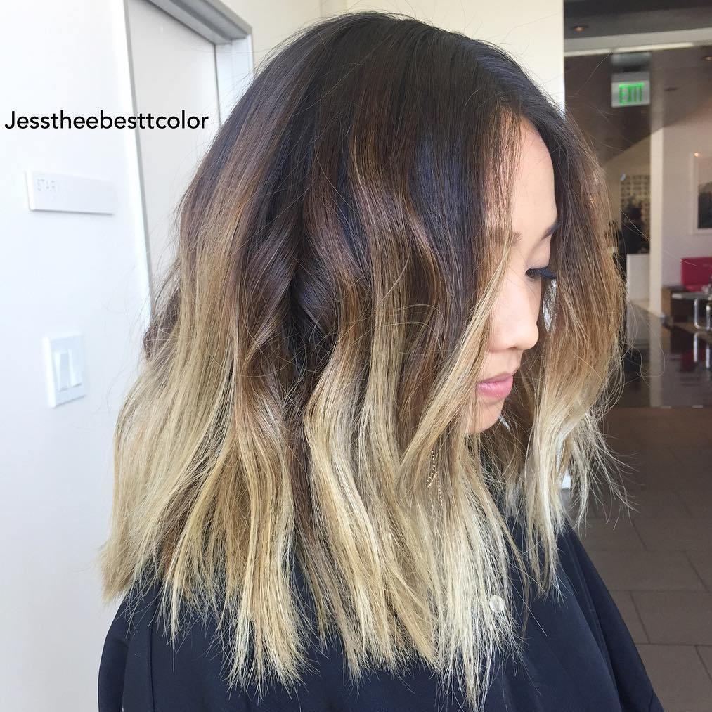 7-brown-lob-with-blonde-balayage-ombre