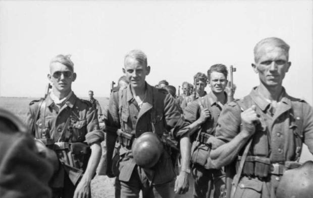 Német katonák az orosz fronton. Forrás: Wikimedia Commons