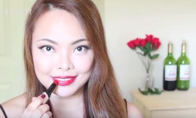 wine-lipstick-makeup