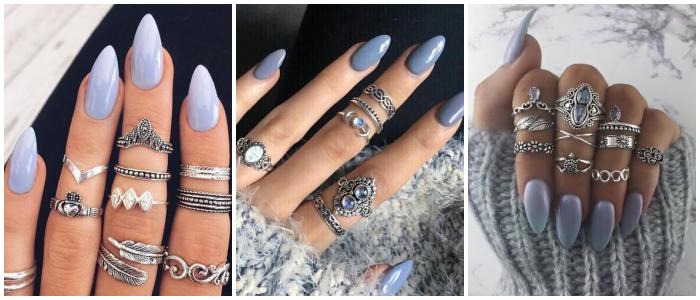bluish-nails-winter-fashion