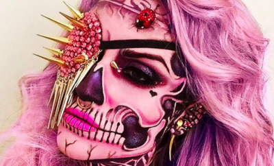 skull-makeup-artist-face