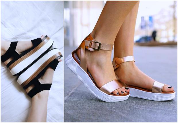 Magas talpú szandál | H&M | Sarok, Magassarkú, Cipők